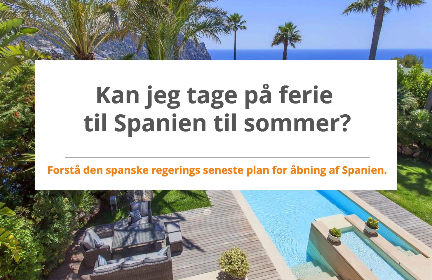 Plan for genåbning af Spanien