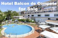 Hotel Balcon de Competa for sale