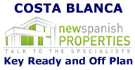 Key ready and off Plan projects in Costa Blanca, Alicante