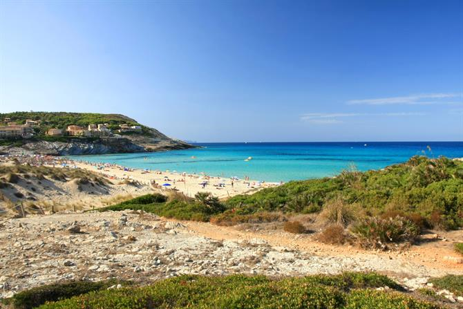 Cala Mesquida was declared a Natural Area of Special Interest in 1991 by the Parliament of the Balearics.
