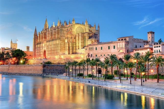"Palma de Mallorca is locally referred to as ""Cuitat"" quite simply,"
